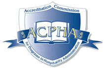 Accreditation Commission for  Programs In Hospitality Administration logo