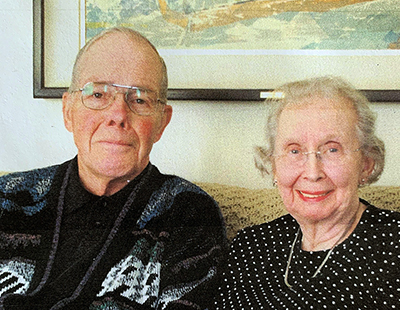 Don and Donna Landsverk, of White Bear Lake, Minn., met at UW-Stout and were married in 1952, the year they graduated. They have been married for 68 years.
