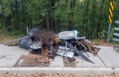 Large objects, including metal fire pits, a box spring, a couch and boards were pulled Oct. 1 from Galloway Creek on the south side of Menomonie by a group of UW-Stout students.